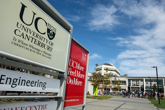 ทุนเรียน University of Canterbury นิวซีแลนด์