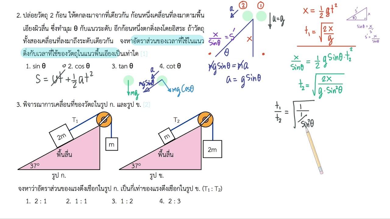 ฟิสิกส์ ติวเตอร์ สอนพิเศษ